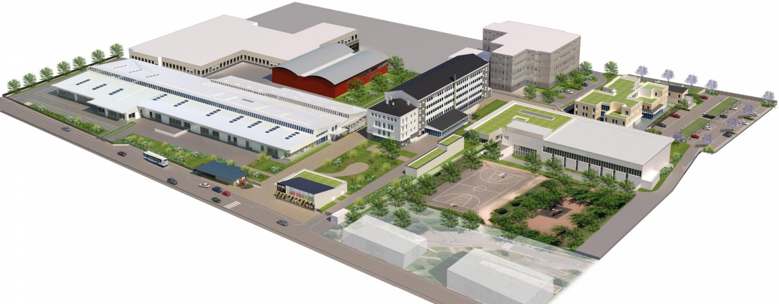 montigny04 Pascale SEURIN Architecte - Enseignement