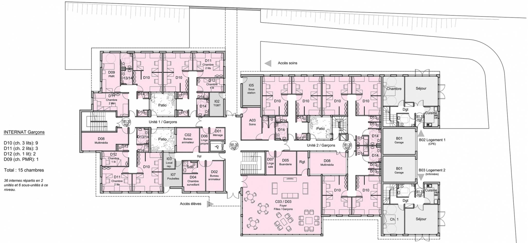 montigny05 Pascale SEURIN Architecte - Enseignement