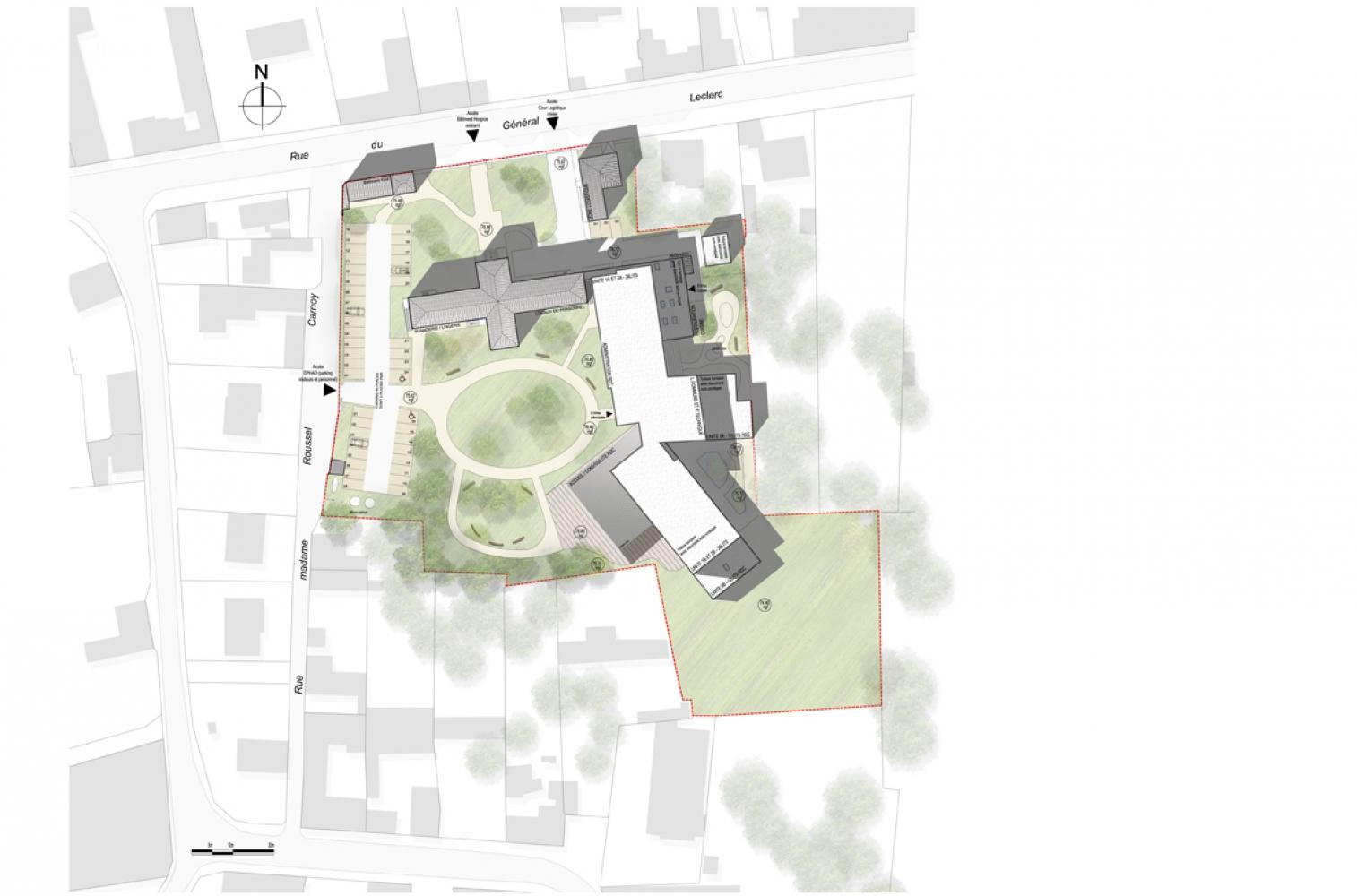 war03 Pascale SEURIN Architecte - Médico-Social