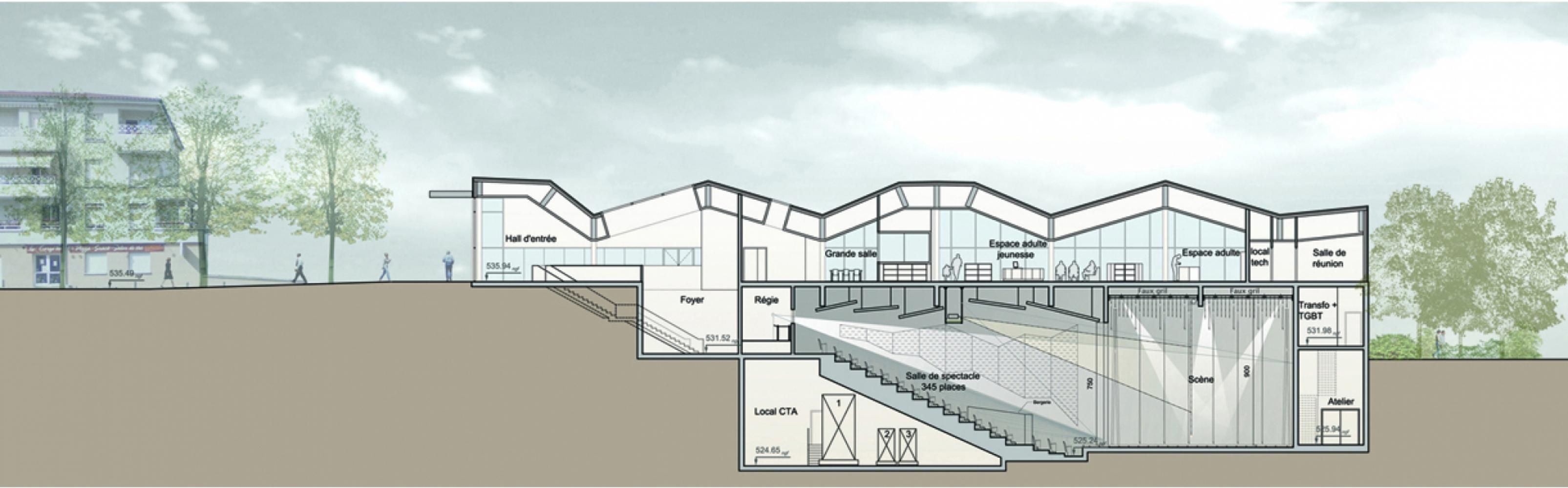 roche01 Pascale SEURIN Architecte - Pascale SEURIN Architecte