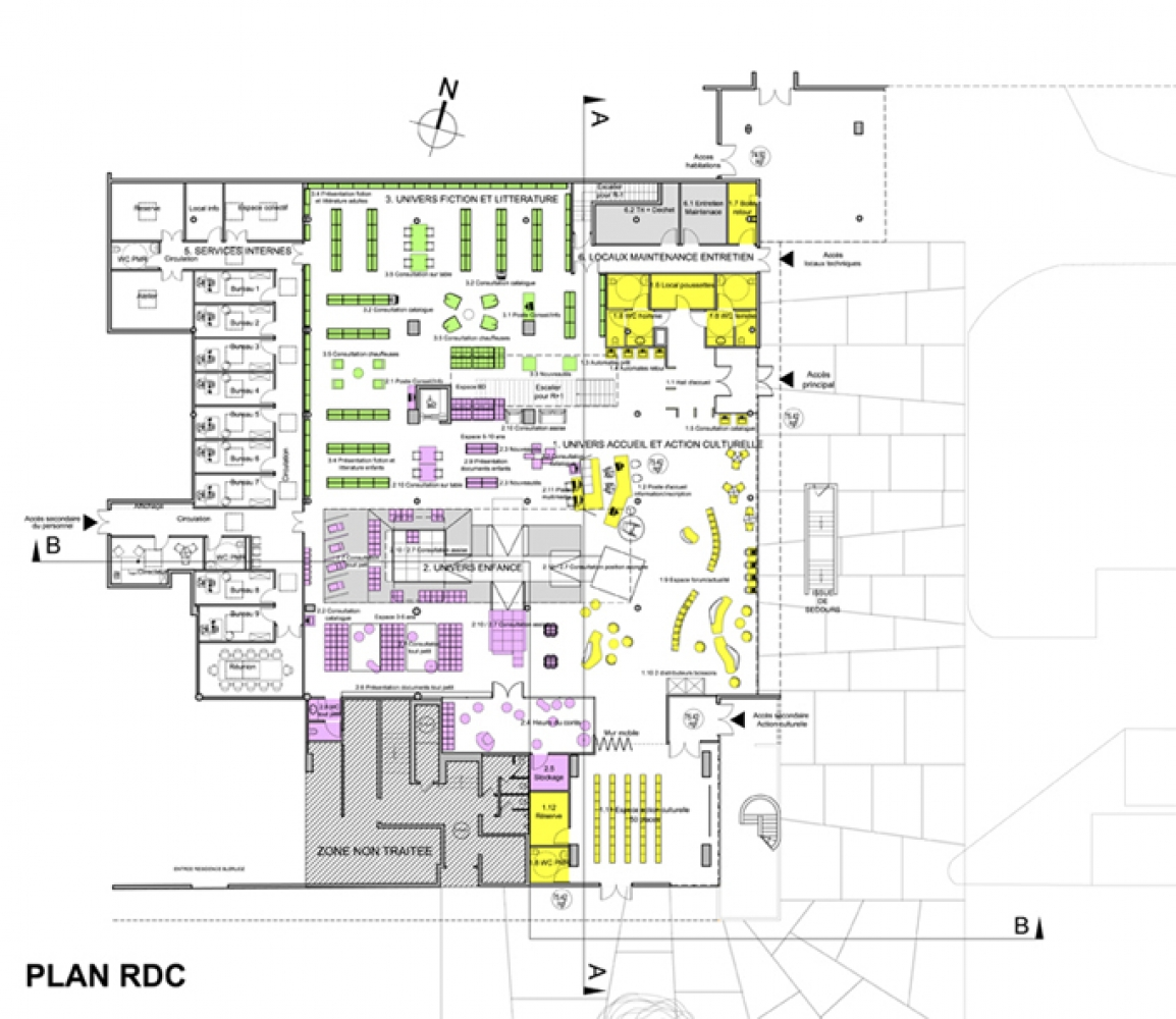 stz---10 Pascale SEURIN Architecte - Culturel