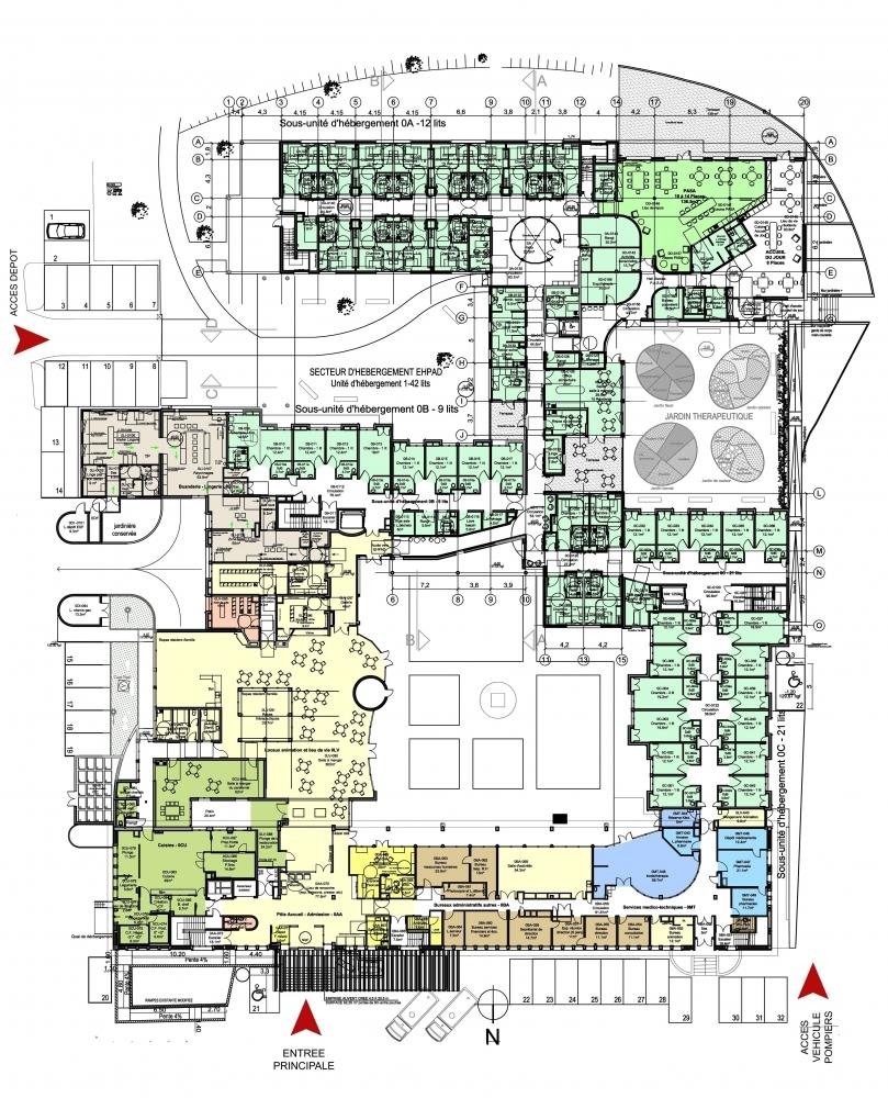 02-montier-img-004 Pascale SEURIN Architecte - Médico-Social