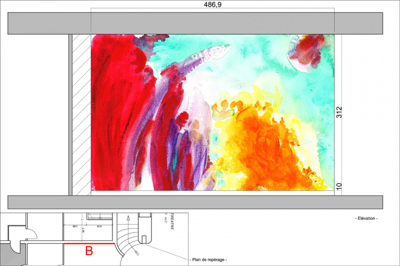 thea-05 Pascale SEURIN Architecte - Peintures