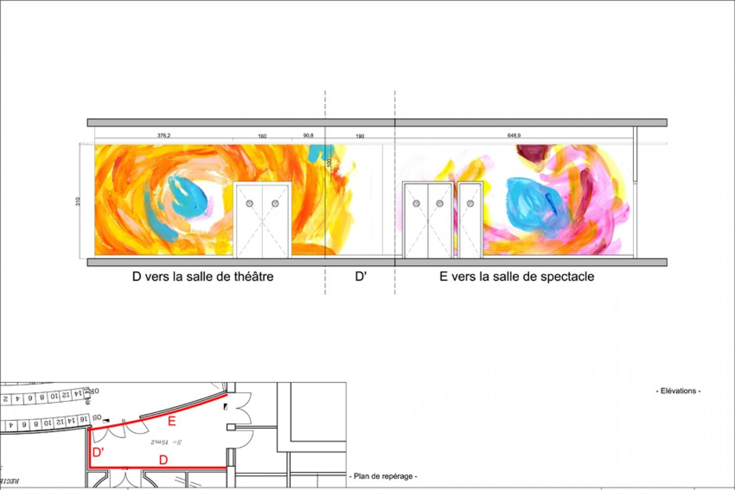 thea-06 Pascale SEURIN Architecte - Peintures