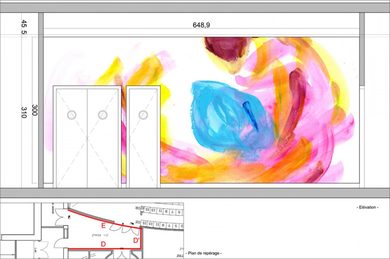 thea-08 Pascale SEURIN Architecte - Peintures