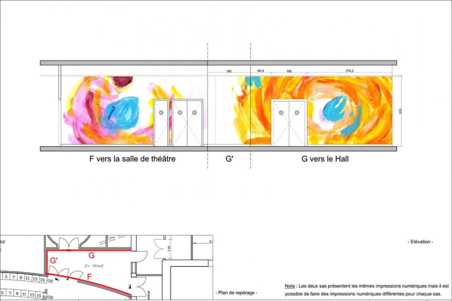 thea-09 Pascale SEURIN Architecte - Peintures