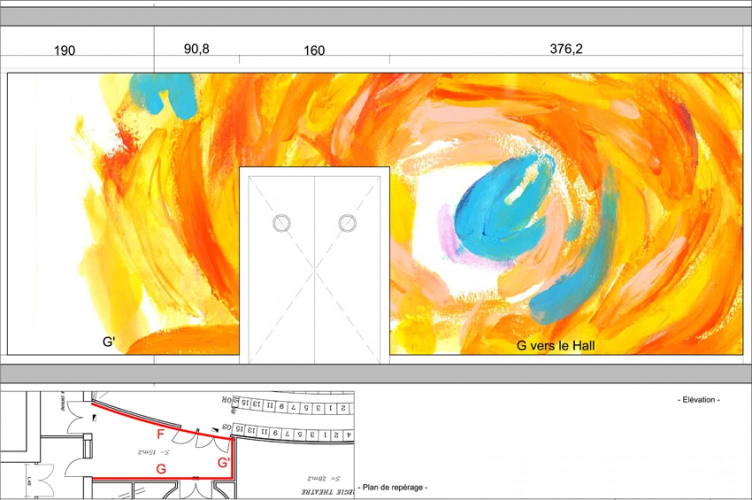thea-10 Pascale SEURIN Architecte - Peintures