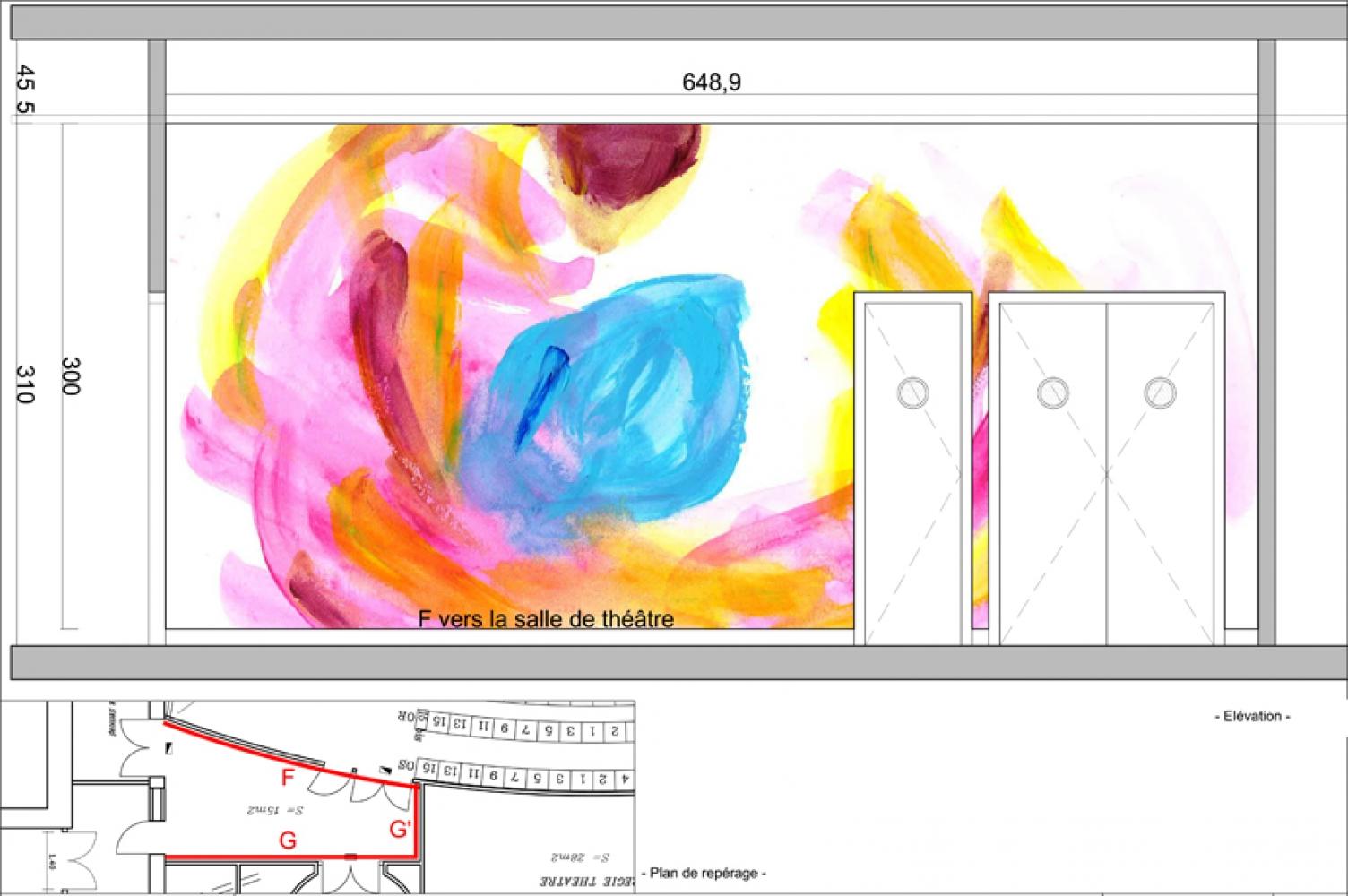 thea-11 Pascale SEURIN Architecte - Peintures