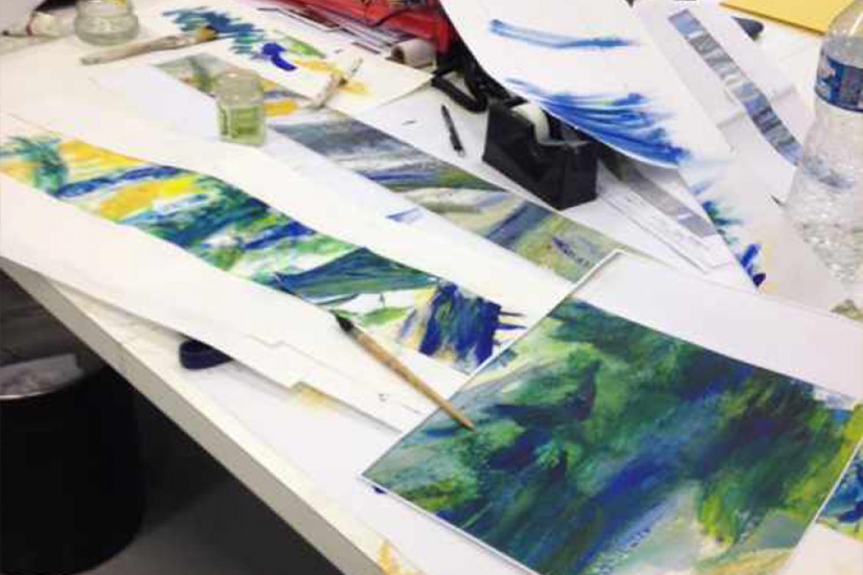 rothschild01 Pascale SEURIN Architecte - Peintures