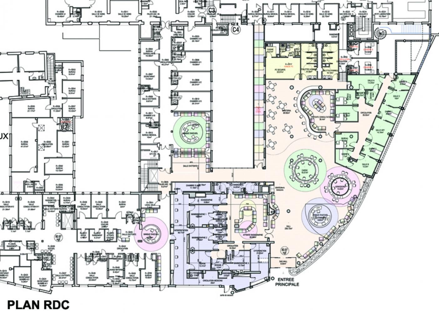 zhugx---03 Pascale SEURIN Architecte - Hospitalier