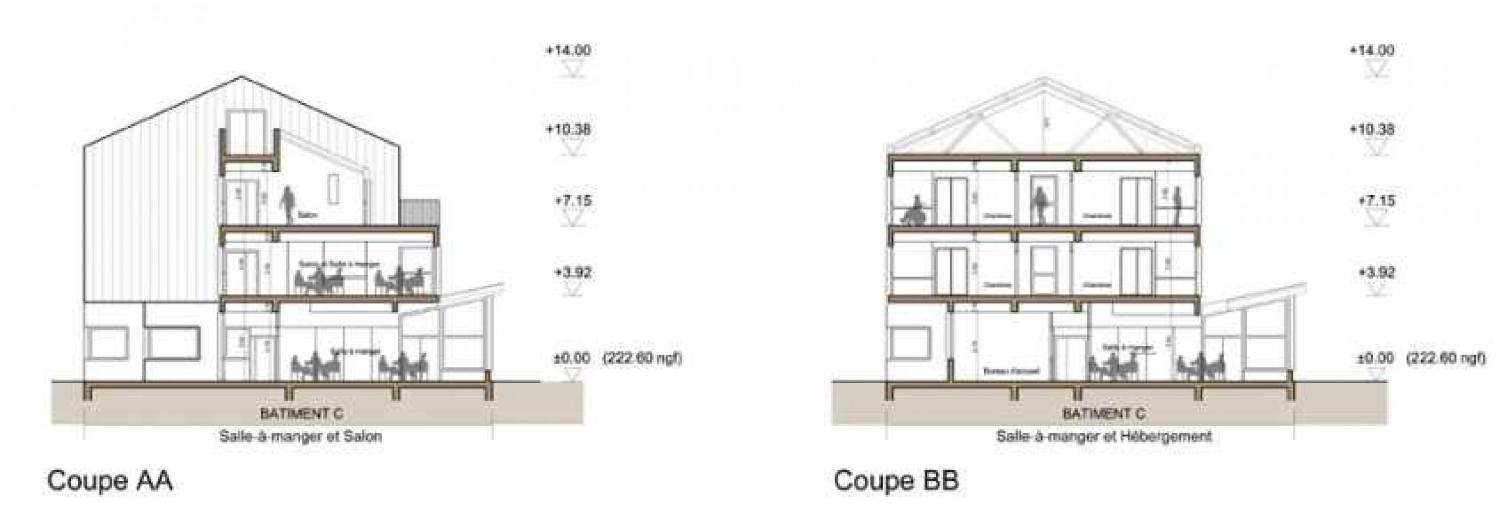 coupeaa_bb Pascale SEURIN Architecte - Médico-Social