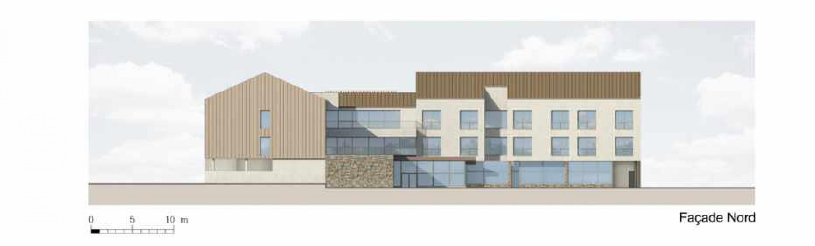 facade_nord Pascale SEURIN Architecte - Médico-Social
