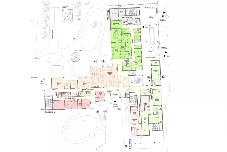 pois04 Pascale SEURIN Architecte - Médico-Social
