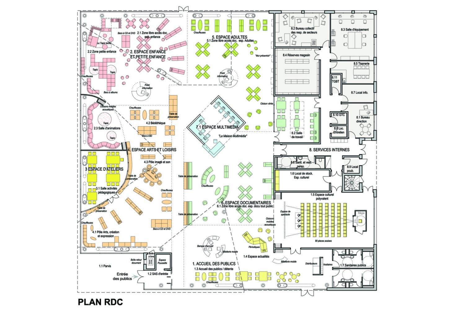 1-zhar--10 Pascale SEURIN Architecte - Culturel