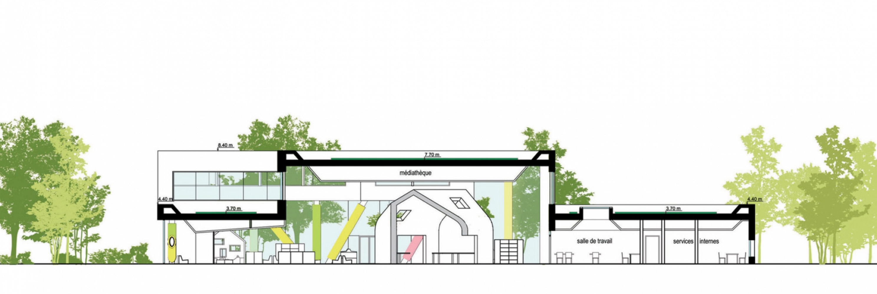harnes01 Pascale SEURIN Architecte - Culturel